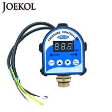 """משלוח חינם WPC10 דיגיטלי מים מתג לחץ תצוגה דיגיטלית Eletronic לחץ בקר עבור מים משאבת עם G1/2 """"מתאם"""