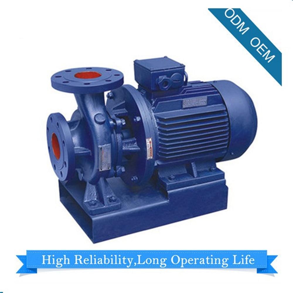 Pipeline Horizontal pompe centrifuge ISW-100 pompe à eau pompe à eau 230/460 triphasé DN100 livraison par océan sous CIF terme