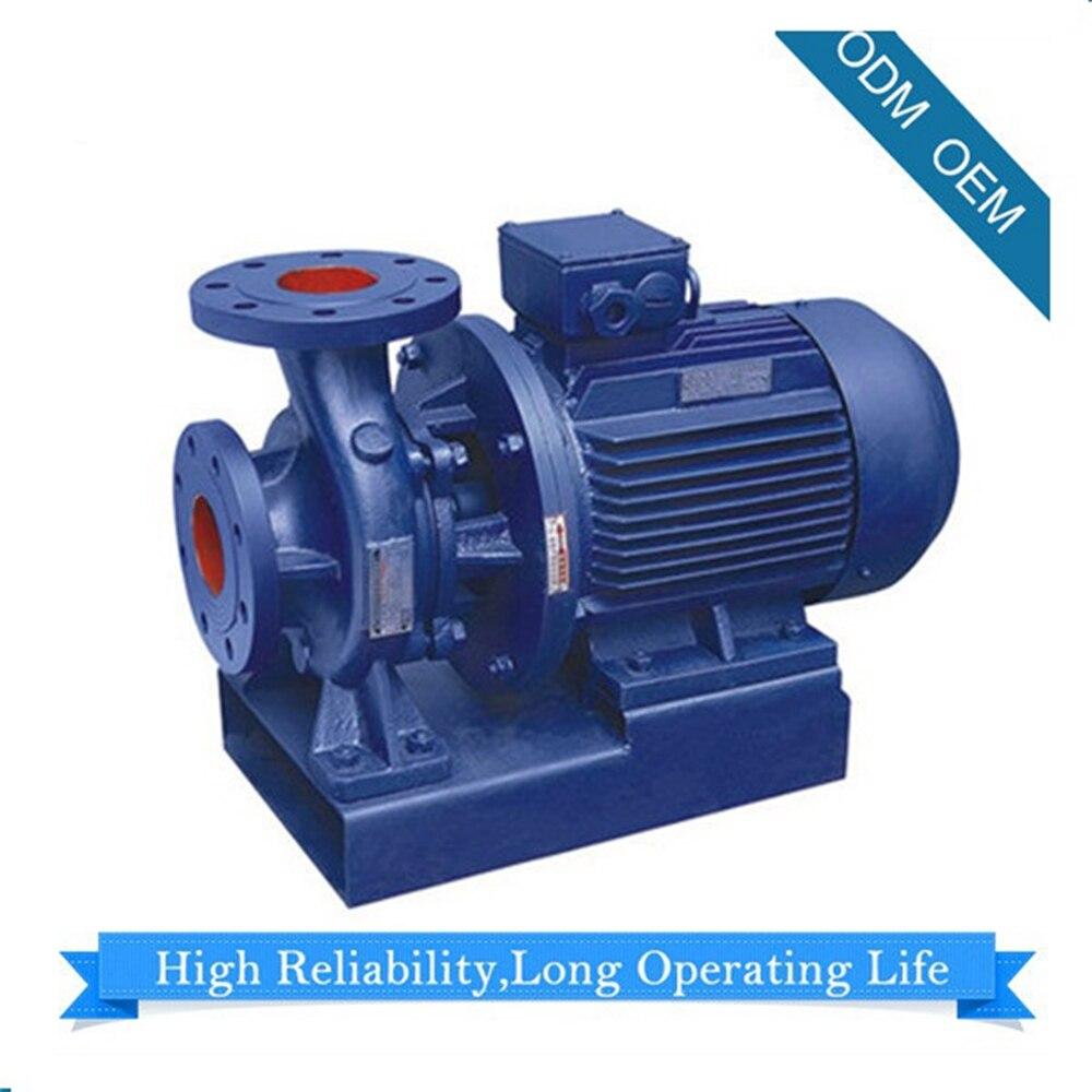Tubazione orizzontale Pompa Centrifuga ISW-100 Pompa Booster Pompa Dell'acqua 230/460 trifase DN100 Consegna Da Ocean Sotto CIF Termine
