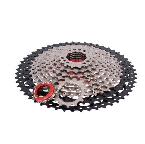 2018 nouveau vtt 11 vitesses L Cassette 11 s 11-52 T rapport large roue libre VTT pièces de vélo pour k7 X1 XO1 XX1 m9000 pas cher DH