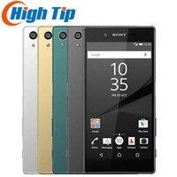 Unlocked Original Sony Xperia Z5 E6653 5.2 Inch 23MP Camera RAM 3GB ROM 32GB GSM WCDMA 4G LTE Android Octa Core Mobile phone