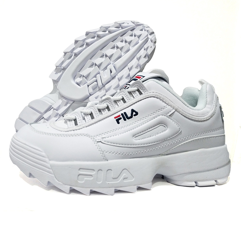 d7b36becd4ed FILA DISRUPTOR II 2 TRIPLE WHITEWHITE CROSS-TRAINING  pick up 5f808 abd5a  Buy fila men and get free shipping on AliExpress.com ...