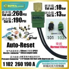 IP65 картридж мембранных переключателей, используется для высокого давления безопасности контроля давления в R134a кондиционеры и грелка