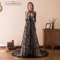 Vintage Lace Evening Dresses 2018 Real Photos Ever Pretty Robe De Soiree Galajurk Formal Women Dress
