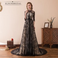 Vintage Lace Evening Dresses 2018 Real Photos Ever Pretty Robe De Soiree Galajurk Formal Women Dress Long Prom Party Gown