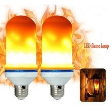 LED Bulbs Lamp Fire Flame Effect Lighting 7W Flickering Emulation Light 1400-1600K lamp