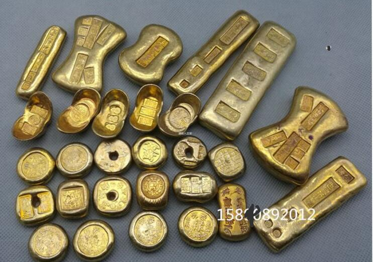Gold Ingot Pure Copper