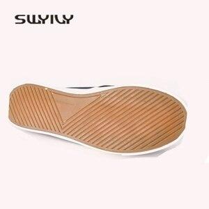 Image 5 - Swyivy 44 Unix Sneakers 2018 Lente Zomer Vrouw Canvas Slippers Liefhebbers Casual Slip Op Luie Schoenen Vrouwelijke Ademend Sneakers