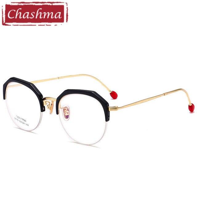 00a8f59c0615c4 Chashma Merk Trend Bril Ronde Brillen Vrouwen TR 90 Brilmonturen Luipaard Mode  Optische Spektakel Vrouwelijke 50