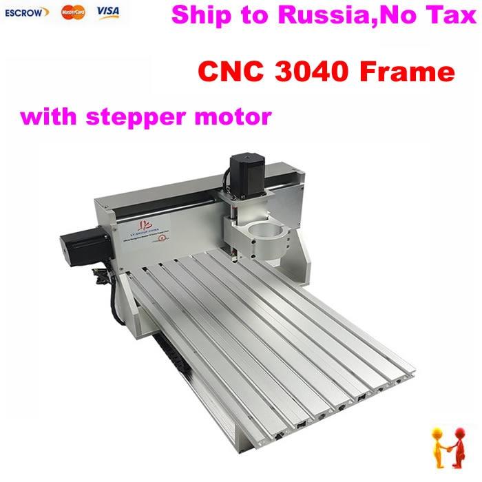 LY 3040 CNC cadre avec fin de course moteurs pas à pas CNC partie kit cadre pour le bricolage