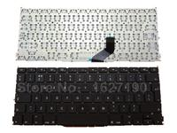 New UK Keyboard For APPLE Macbook A1425 BLACK For Backlit Laptop Keyboards With Free Shipping