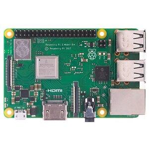 Image 3 - Nuevo Raspberry Pi 3 B + (B Plus) Kit de pantalla LCD Quad Core 1,4 GHz 64 bit CPU con 3,5 pulgadas de pantalla adaptador de corriente disipador de calor