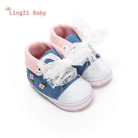 Baby Shoes Baby The First Walker Shoes Baby Girl With Delicate Embroidery Flowers Soft Bottom Toddler Shoes Karachi