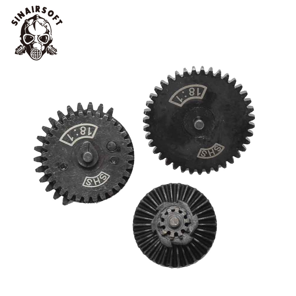 SINAIRSOFT SHS 18:1 New Design CNC Normal Speed Gear For Ver.2/ 3 Airsoft Gearbox AEG Hunting Accessories For Gun