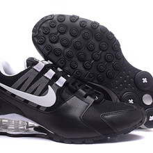 hot sale online a0d40 3ab86 Nike Shox Avenue Air Max Mesh Men s Cushioning Running Shoes,Male  Comfortable Outdoor Sports Breathable