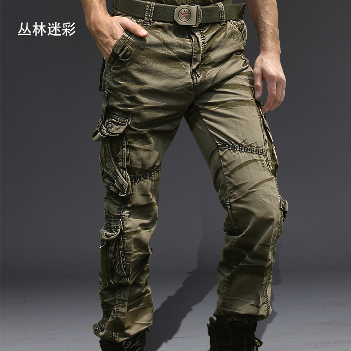 Mens Military Style Cargo Pants | Gpant