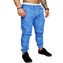 Brand Men Pants Hip Hop Harem Joggers Pants 2018