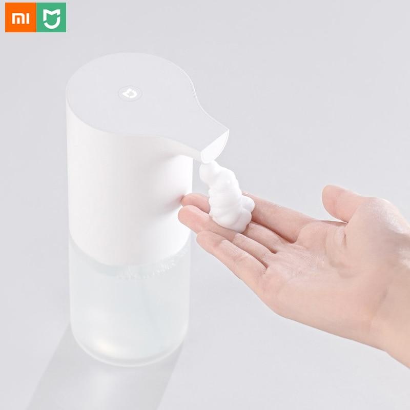Xiaomi Mijia Auto Induction Hand Washer Mi Automatic Infrared Sensor Foaming Wash Soap Dispenser 0.25s for Home Family Foam WashXiaomi Mijia Auto Induction Hand Washer Mi Automatic Infrared Sensor Foaming Wash Soap Dispenser 0.25s for Home Family Foam Wash