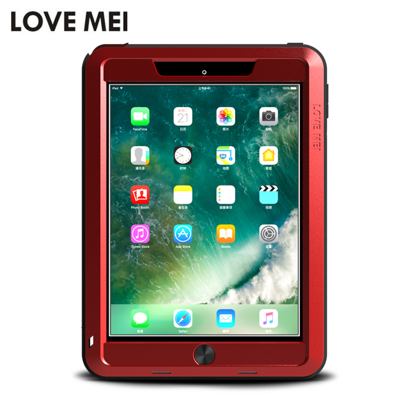 For iPad 2 3 4 Case Original Love Mei Aluminum Waterproof Case For iPad 2 3