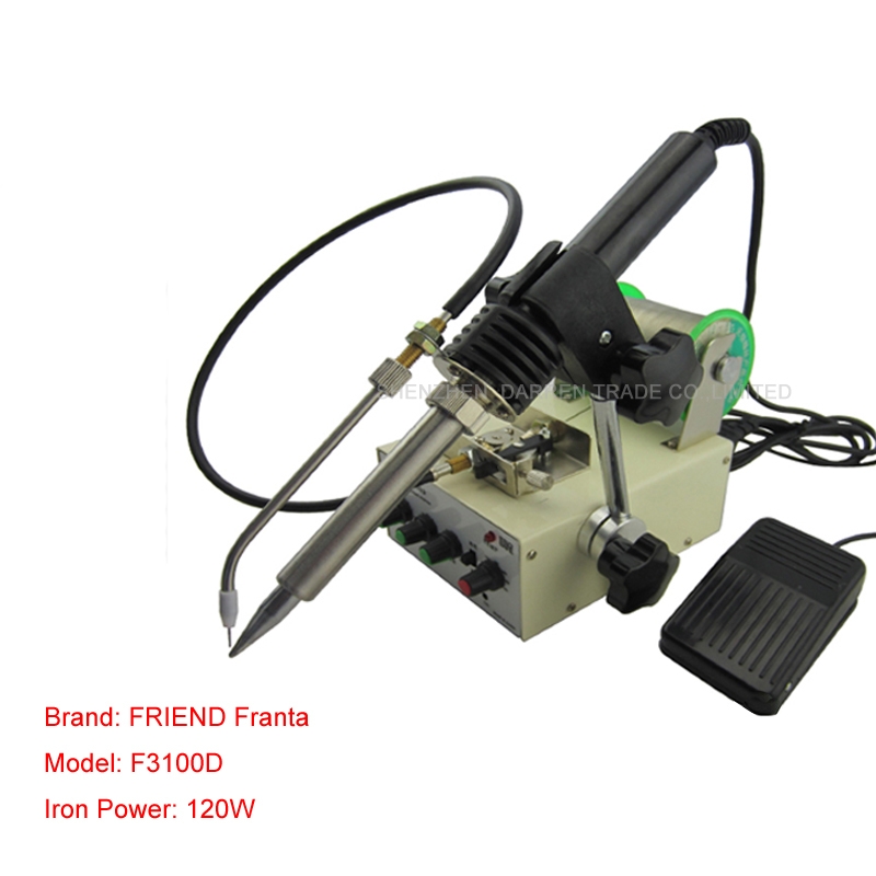 цена Electric soldering iron F3100D multi-functional Automatic pedal soldering machine Constant Temperature Soldering Iron