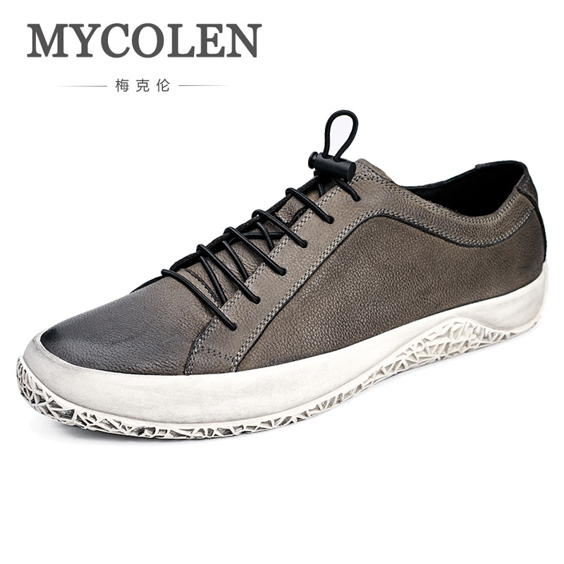 MYCOLEN Men Shoes Brand New Fashion Men's Sneakers 2018 Breathable Elastic Band Casual Man Shoes Sapato Masculino Luxo mycolen the new listing men shoes brand new fashion mens sneakers 2018 breathable elastic band casual shoes man sepatu pria