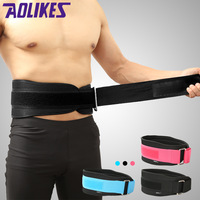 AOLIKES 1 Pcs Sport Pressurized Weightlifting Bodybuilding Waist Support Belt Fitness Squatting Training Lumbar Back Supporting