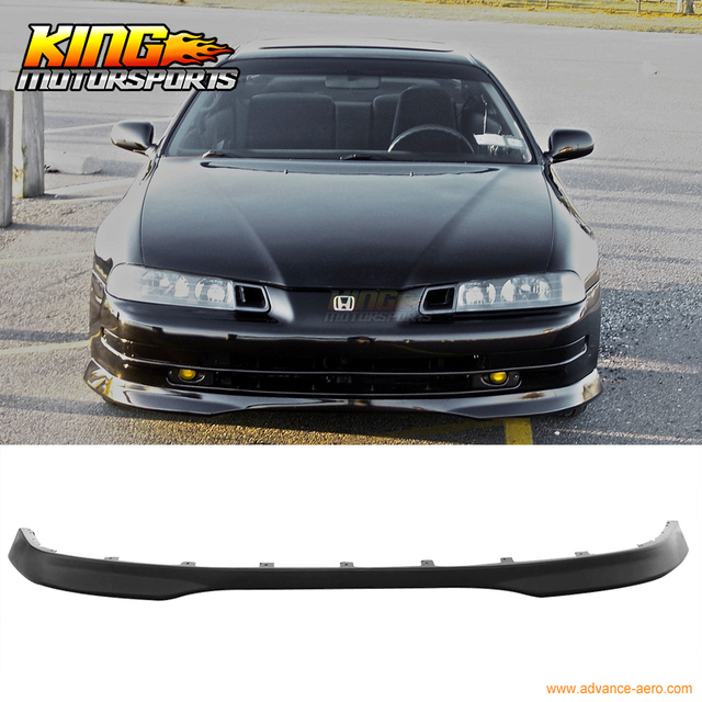 FIT FOR 92 96 HONDA PRELUDE FRONT BUMPER LIP TYPE R STYLE URETHANE