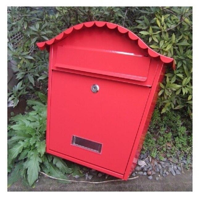 vila dům kovový poštovní schránka Severní Amerika módní - Zahradní produkty