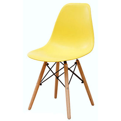 Полипропилен Дерево DIY обеденный стул современный дешевый обеденный бар встречи гостиная Кофейня бук деревянный стул Лофт стулья мебель для дома - Цвет: HH381300YE