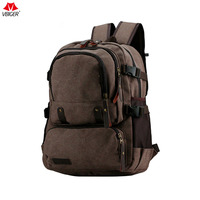 Vbiger Fashion School Backpack Canvas Travel Daypack Large Capacity Laptop Backpack High Quality Unisex Bags Hot