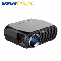 VIVIBRIGHT Android 6.0.1 LED Projector GP100 UP. 1280x800 Resolution 3200 Lumens Built in WIFI Bluetooth, DLAN Miracast Airplay