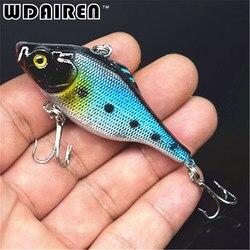 VIB Fishing Lure 6.5CM 9.5G Pesca Fishing Wobbler Crankbait Artificial Japan Hard Bait Tackle Swimbait 6 Colors Available FA-236
