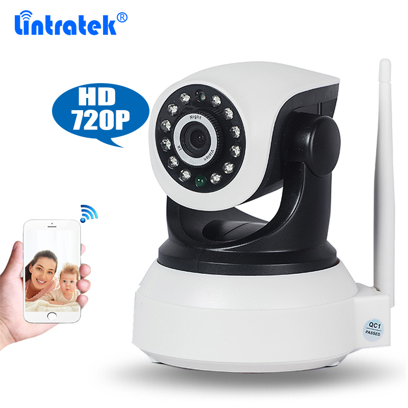 1MP Wireless HD 720P IP Camera CCTV Surveillance Camera Pan/Tilt Video Baby Monitor Two Way Audio SD Card Slot IR Night Vision цена 2017