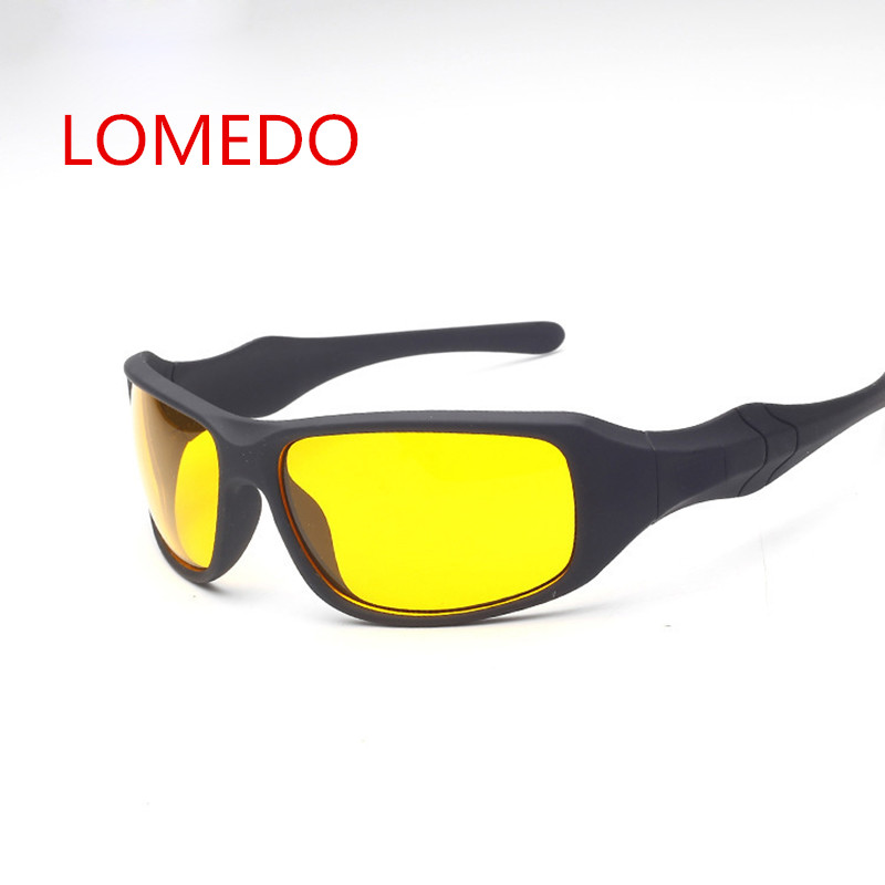 Brand Day Night Vision Drivers Sunglasses Glasses Aviator Night Light Driving Glasses Men Yellow Lens Night Vision Goggles