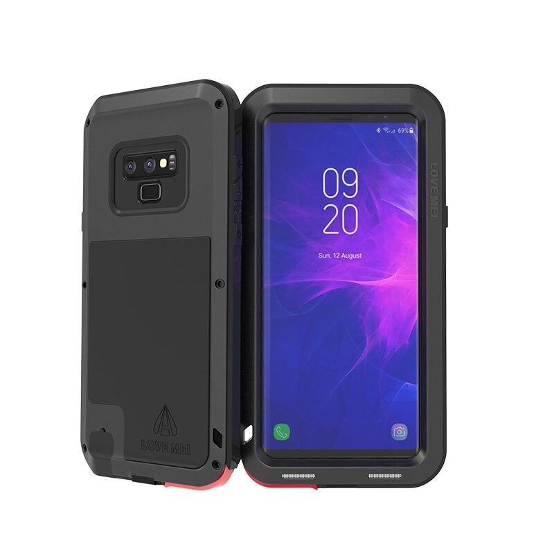 Boîtier de protection hybride blindé boîtier étanche Fundas boîtier étanche à l'eau/saleté/choc/pluie pour Samsung Galaxy Note 9 boîtier de 6.4 pouces