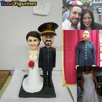 custom bobblehead cake topper australia spain figurine design sculpture mini me couple statue custom bobblehead figures from pho
