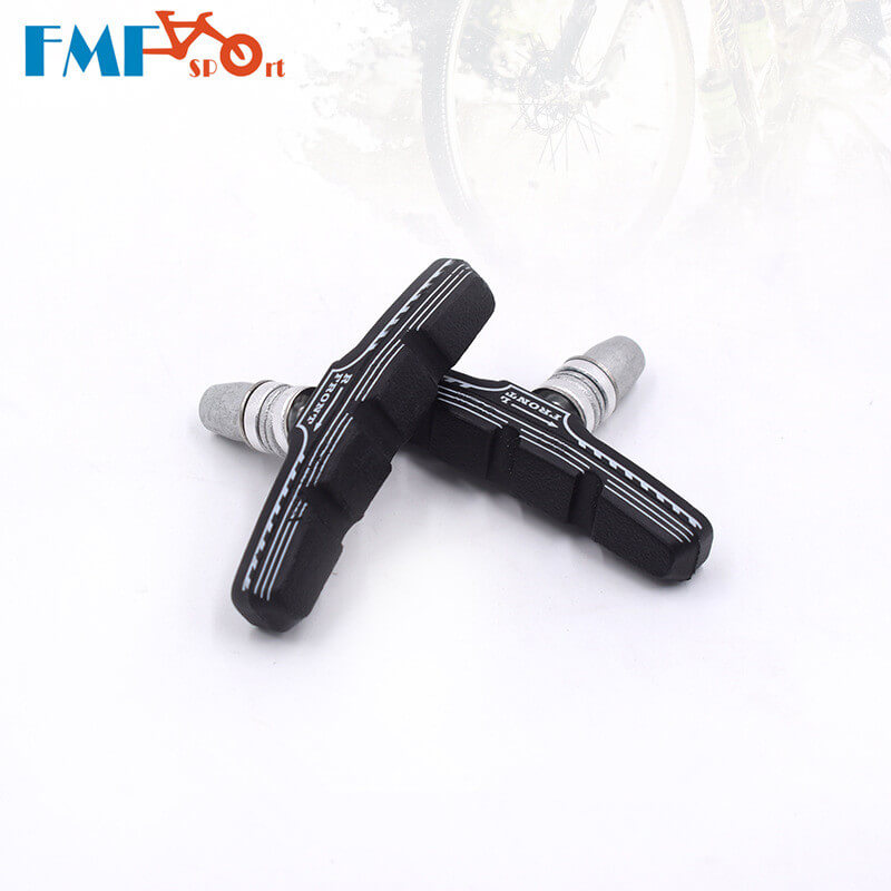 FMF Aluminum+Rubber Bicycle Brake Shoes Pads Light-Weight Anti-friction Road Bike Brake Pads for Shimano Tertro C-Brake Caliper