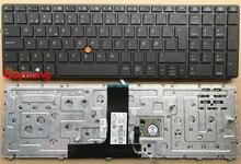 Клавиатура для ноутбука hp EliteBook 8760 8770 8770 w Probook 8760 W 8560 W 8560 8570 W с подсветкой
