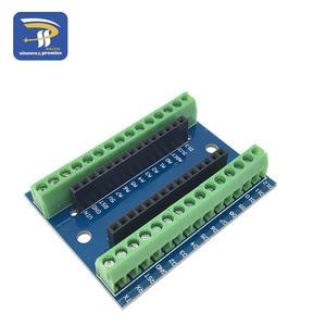 Image 3 - ナノ V3.0 3.0 コントローラ端子アダプタ拡張ボードナノ io シールドシンプルな延長プレート arduino の avr ATMEGA328P