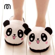Millffy plush panda animal slippers Pokemon lovely plush toy pig slipper plush funny slippers plush indoor panda slipper