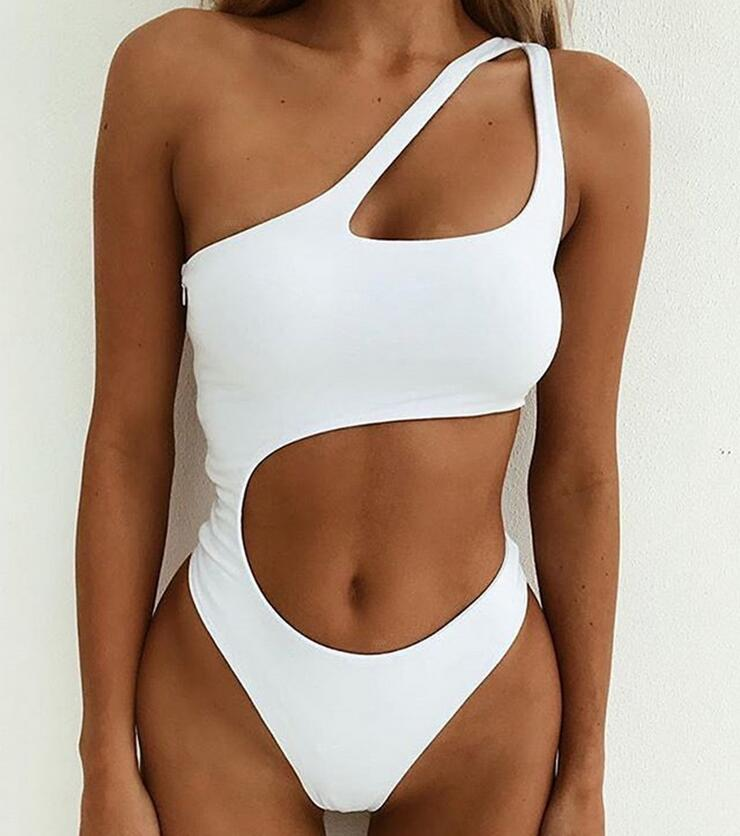 <font><b>Bikini</b></font> <font><b>Sexy</b></font> <font><b>Women's</b></font> <font><b>Swimwear</b></font> Brazil Push Up Swimsuit Solid Beachwear <font><b>Swimwear</b></font> Thong <font><b>Bikini</b></font> Siamese <font><b>Set</b></font> <font><b>2018</b></font> new 0023 image