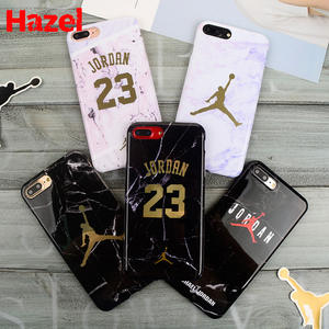 6ef82ddcde35df Jordan 23 Soft silicon Case for iPhone 10 7X7 plus Cover Coque