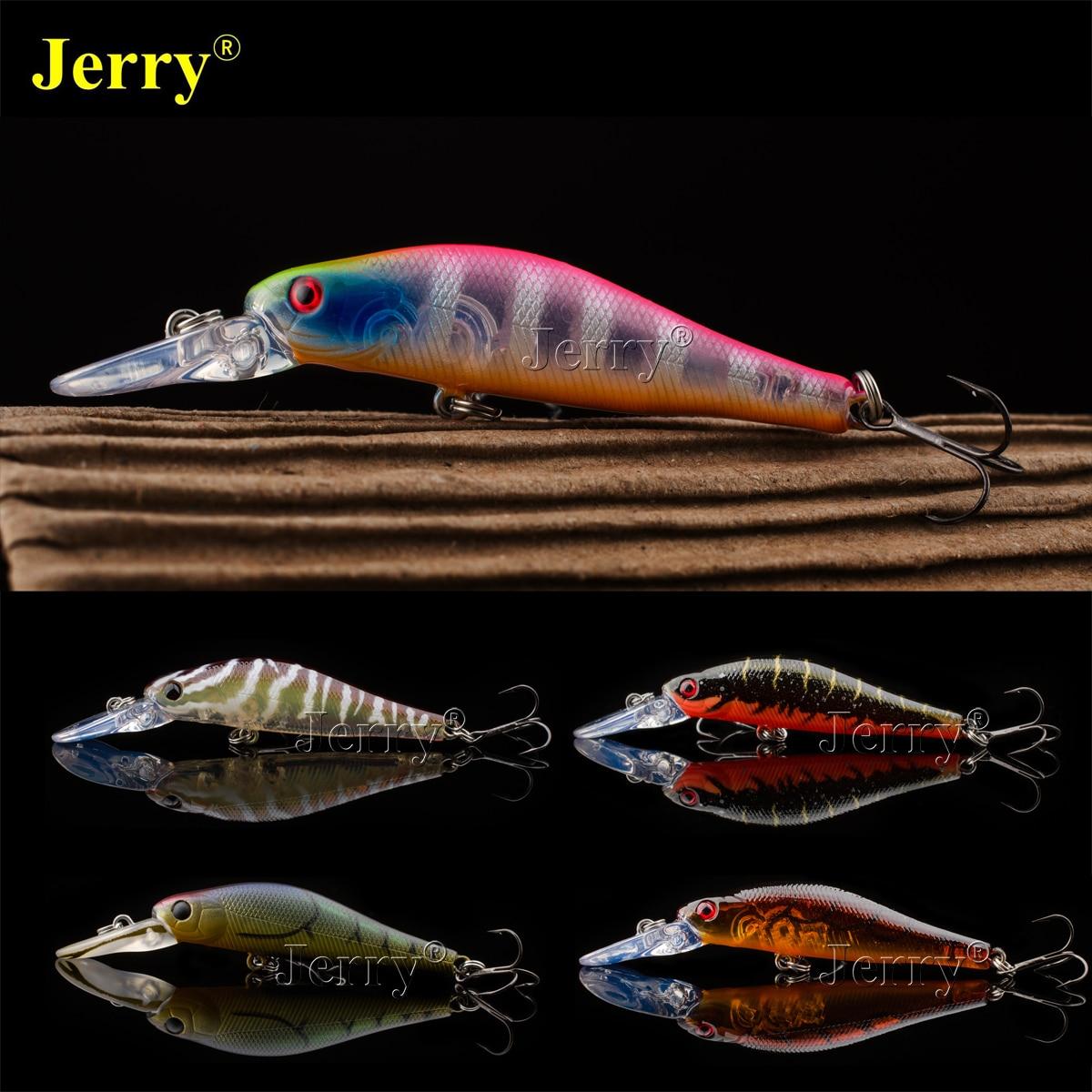 Jerry Japan minnow 5.5cm/2.17in 4g BKK hook deep medium diving jerkbait crankbait hard lure bait plug fishing crank bait