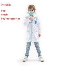 bfc4563e945609 Kostium dla dzieci rolę grając z lekarzem profesjonalny kostium dzień  dziecka lub Halloween jako prezent dla dziecka z wieloma a.