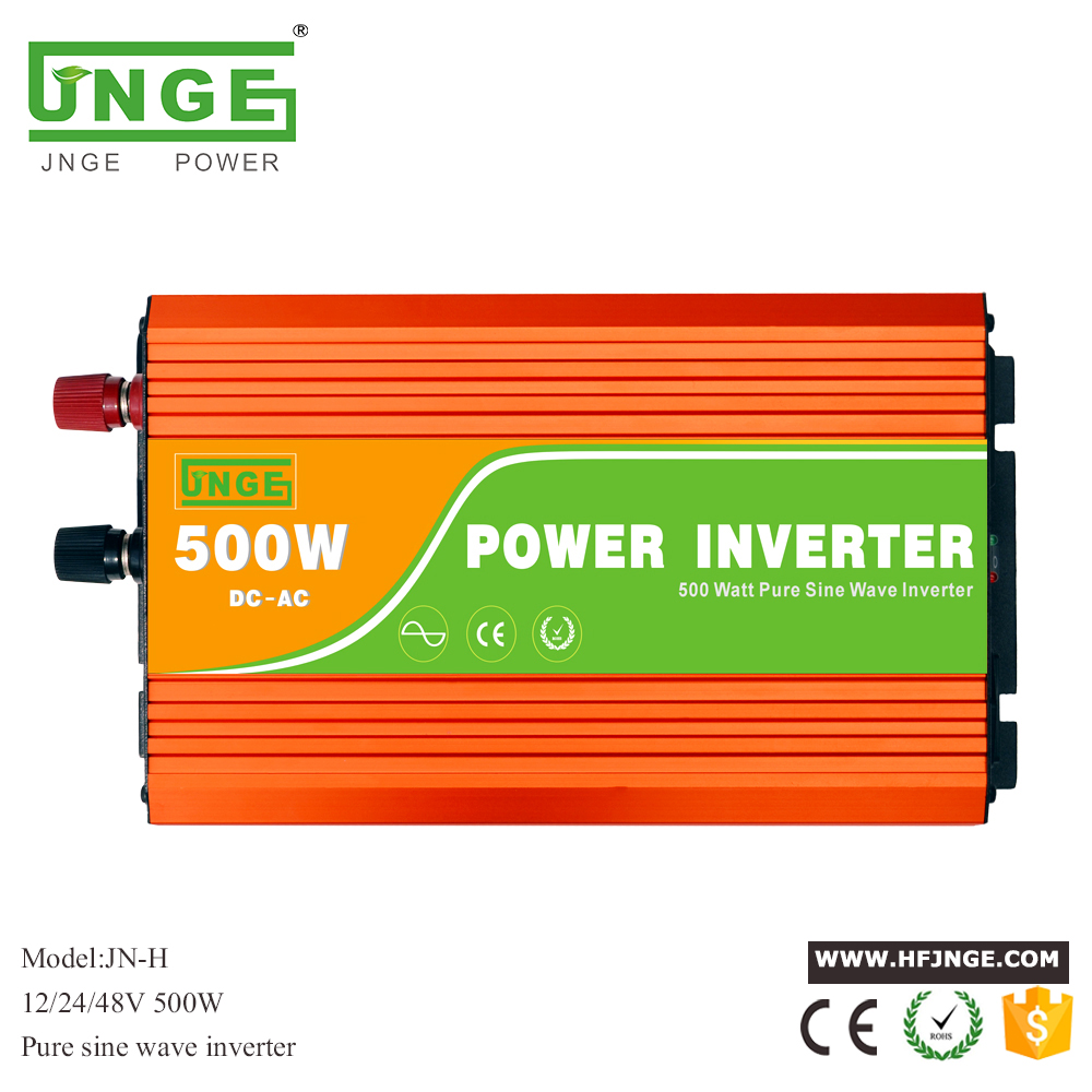 цена на smart inverter 500w pure sine wave inverter 12v 24v to 220v peak surge power 1000w home inverter with charger have 5v usb output