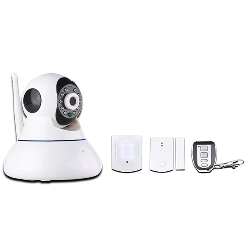 GSM-Alarm- und IP-Netzwerkkamera mit drahtlosem Alarmsystem für PIR- - Kamera und Foto - Foto 2