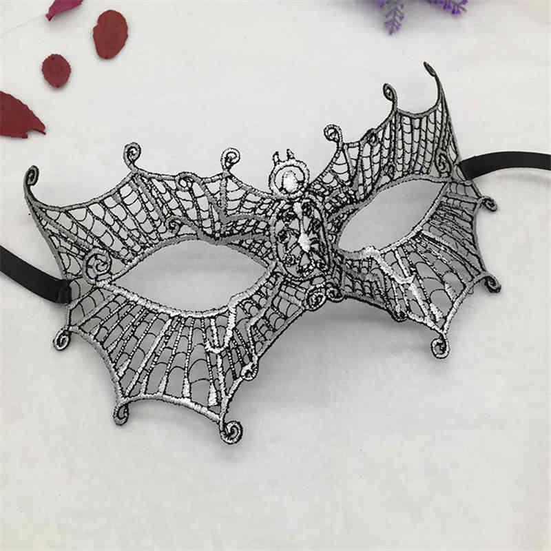 Bạc Nóng Dập Nữ Ren Mặt Nạ Hóa Trang Cho Carnival Halloween Hứa Nửa Mặt Bóng Đảng Khẩu Trang Cutout Mặt Nạ Mắt #35