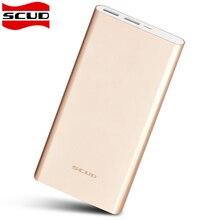 Original scud 20000 mah banco de potencia dual usb cargador de batería de reserva externa universal para iphone samsung xiaomi teléfonos celulares tablet