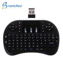 Mini i8 Wireless Keyboard 2.4 GHz English Letters Multi Media Air Mouse Remote Control Touchpad For Android TV Box