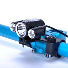 2017 New Bicycle Light 4 Mode XM-L T6 LED Flashlight Bike Light Front Torch Lanterna + Bicycle Clip Mount
